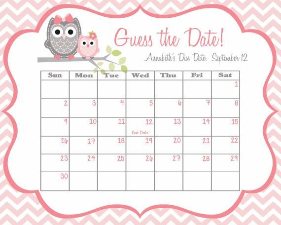 Welcome To Sweet Leilani Designs! *~*~*~* This Listing Is Guess The Baby Born Date Pdf