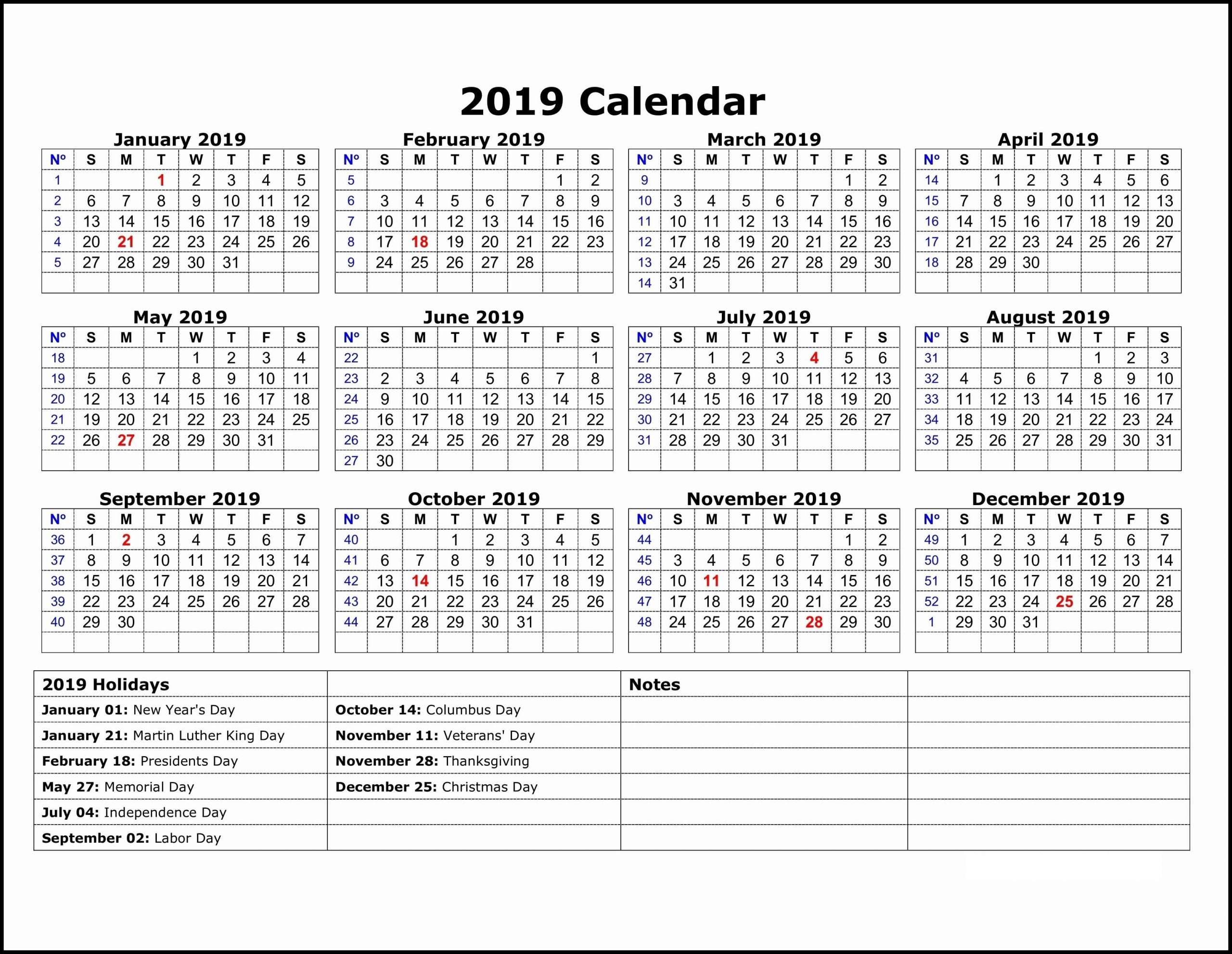 Year Calendar With Notes | Calendar Printables Free Templates One Note Track In Calandar Format