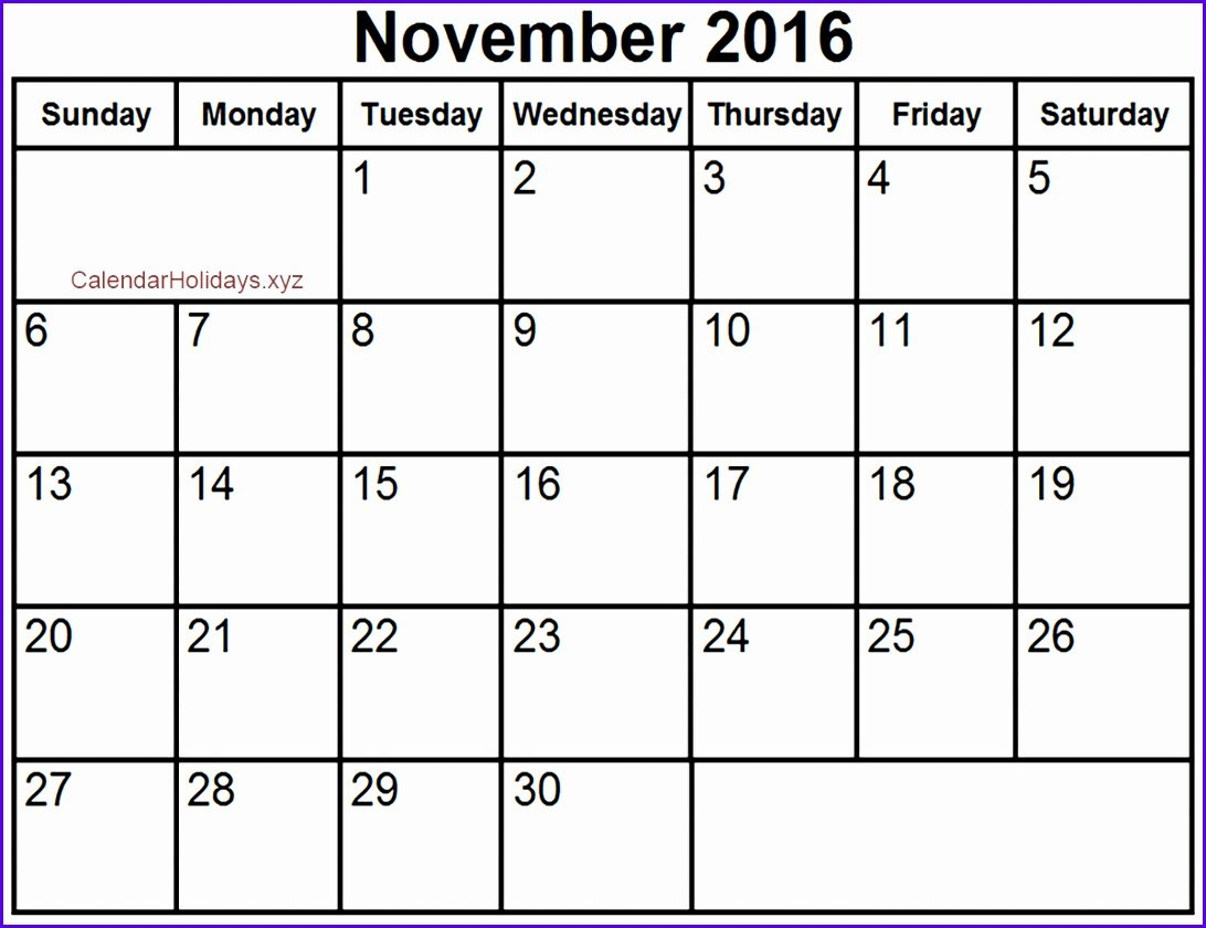10 Blank Calendar Template Excel - Excel Templates - Excel 445 Calender What Is This