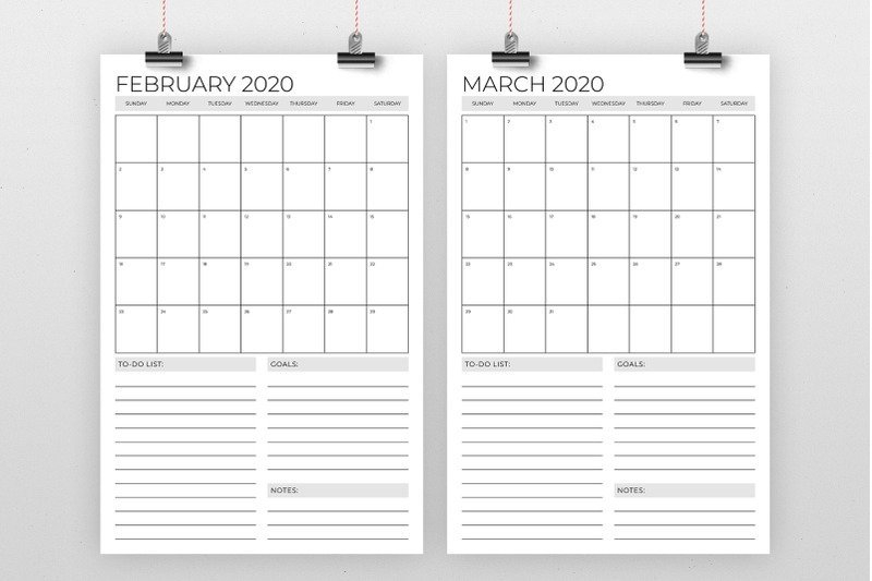 11 X 17 Calendar Image | Calendar Template 2020 11 X 17 Calendar Template