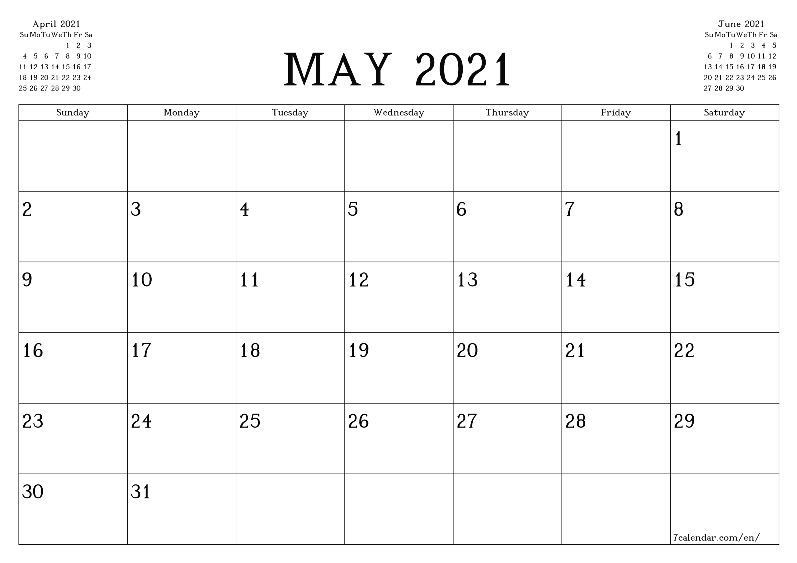 2 Page Per Month 2021 Calendar Printable Free   Calendar 2 Page Monthly Calendar Free