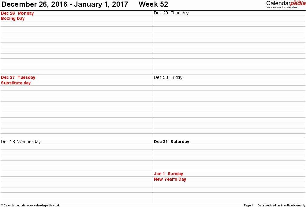 2 Week Calendar Template Word In 2020   Monthly Calendar Two Week Calendar Form