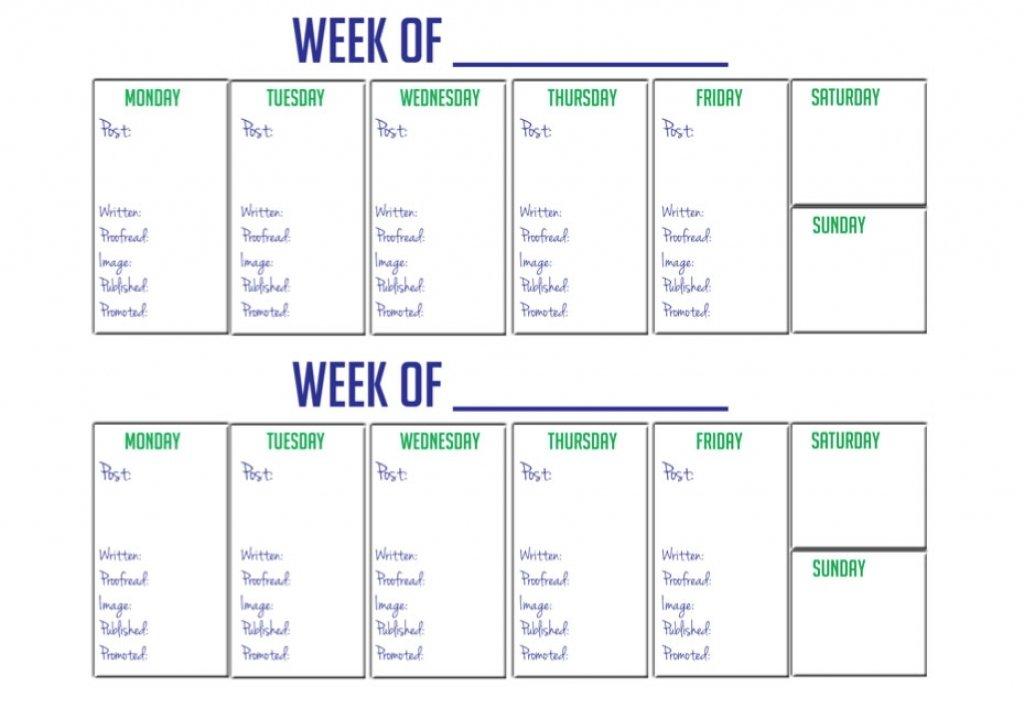 2 Week Printable Calendar :-Free Calendar Template Editable 2 Week Calendars