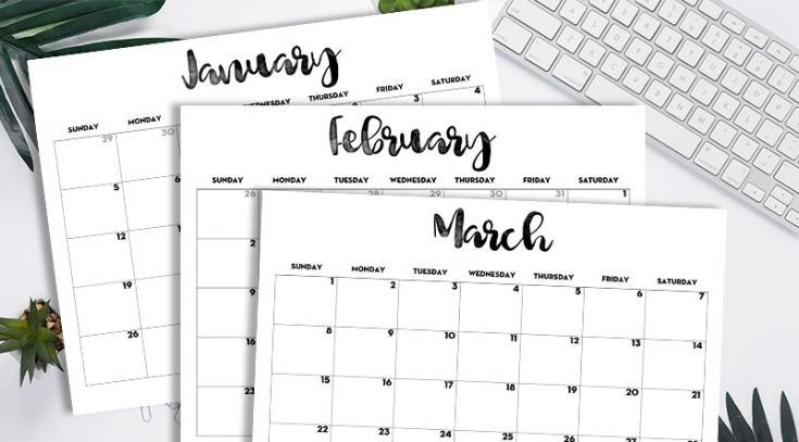 2020 Calendar Printable Free Template   Calendar Hp Free Calander Templates