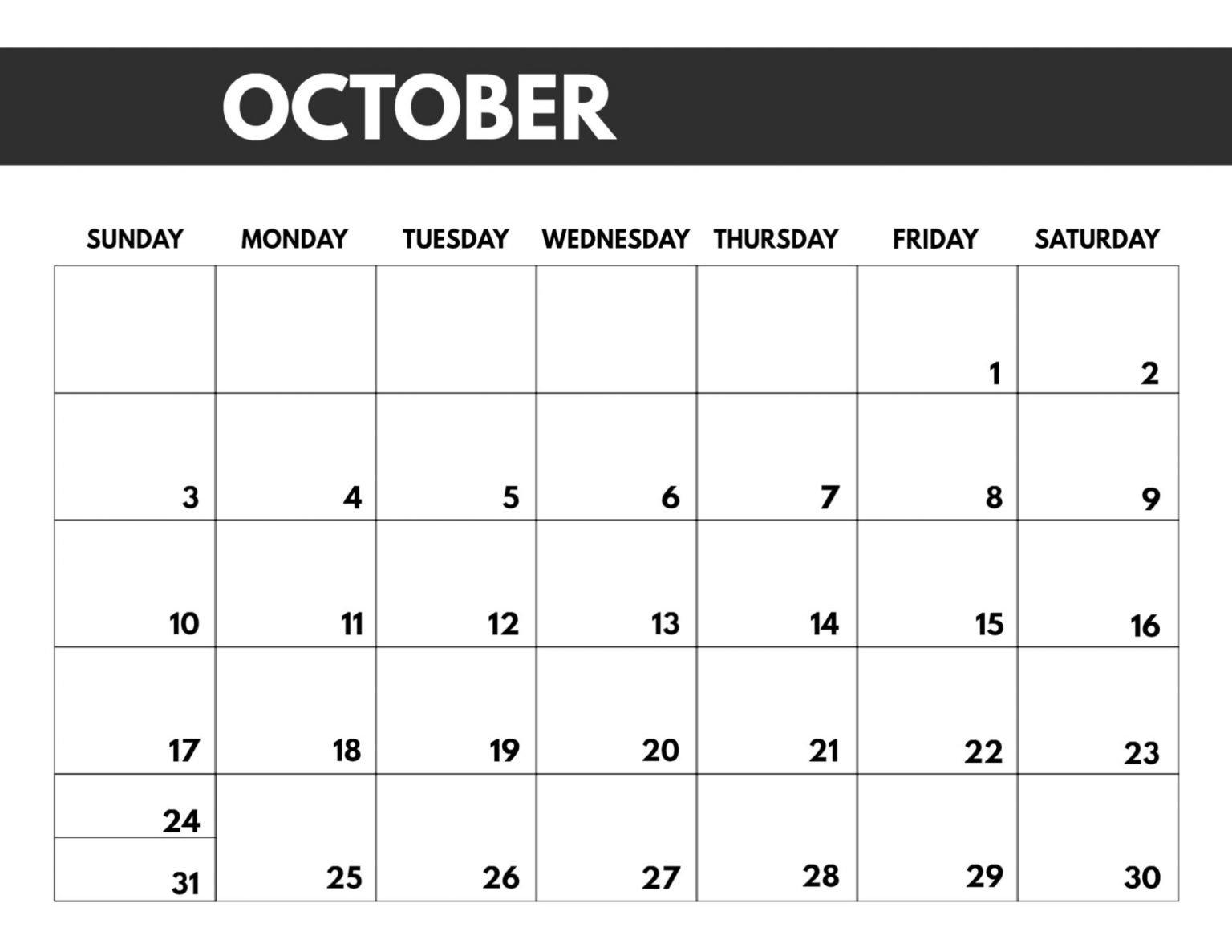 2020 Month Calendar Sunday Through Saturday - Calendar Sunday Through Saturday Planner