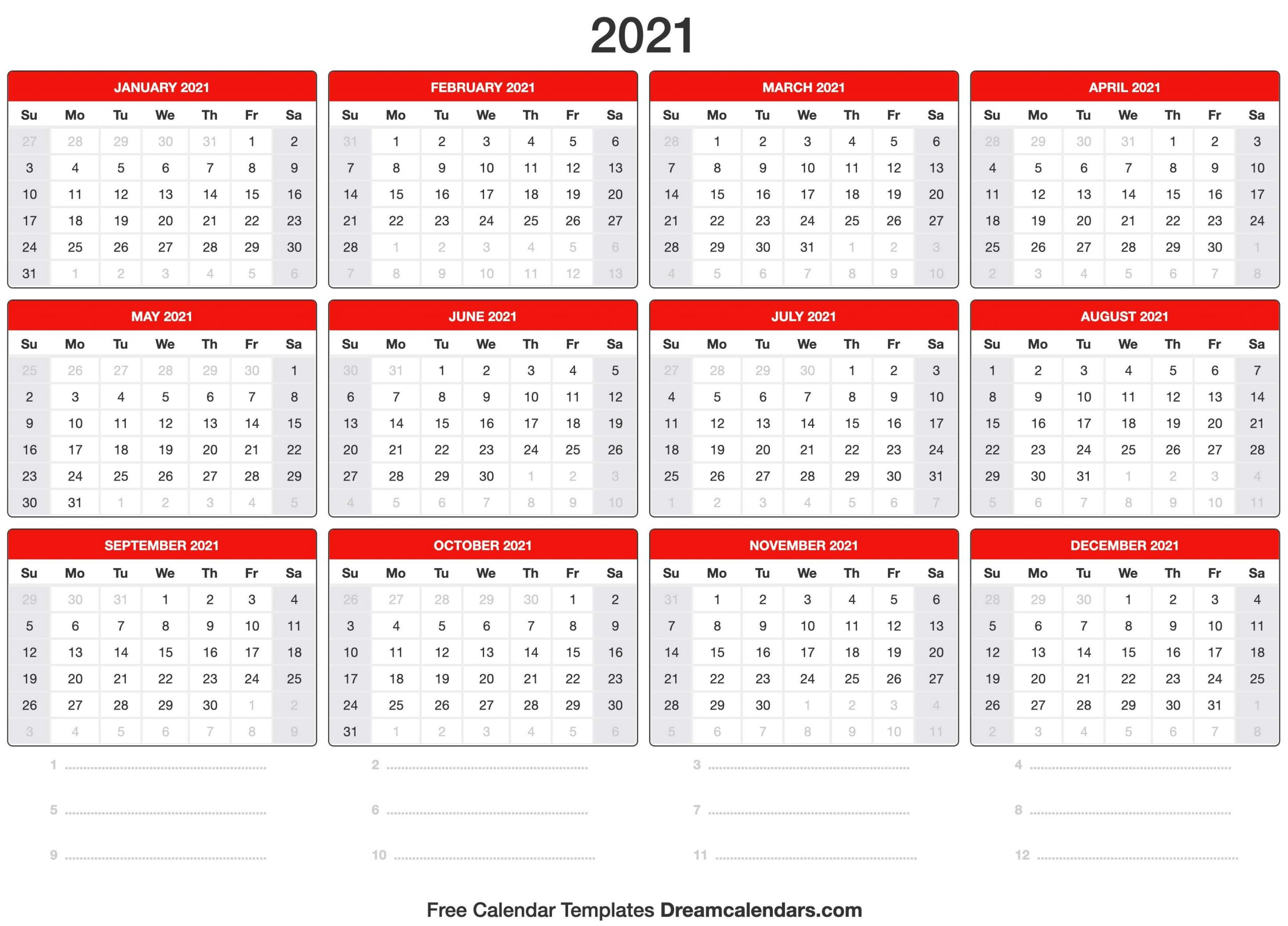2021 Calendar Free Weekly Calendar Fillable With Times Starting At 6Am