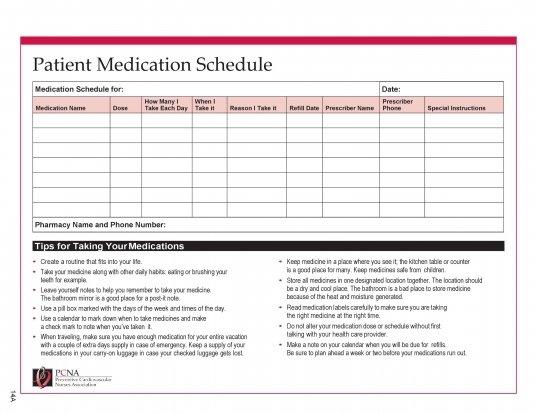 28 Days Medication Calendar 2020 | Printable Calendar 28 Day Medication Expiration