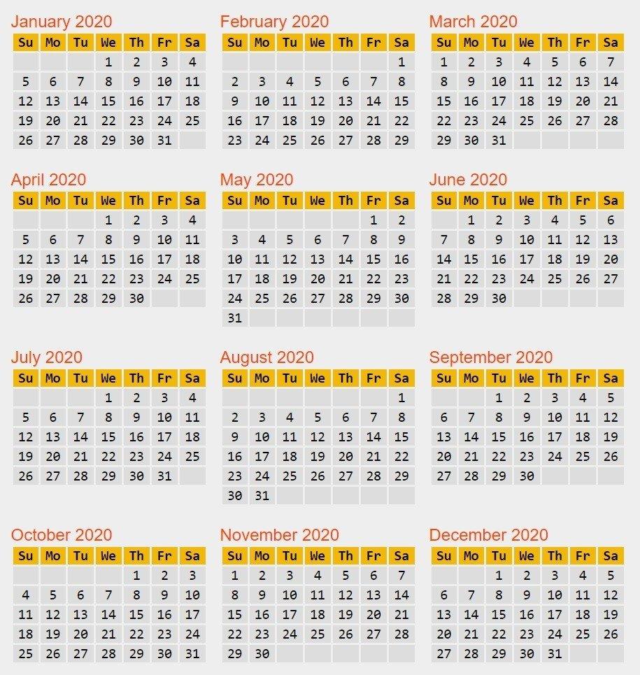 365 Day Julian Calendar January - Template Calendar Design List Of 365 Days Template