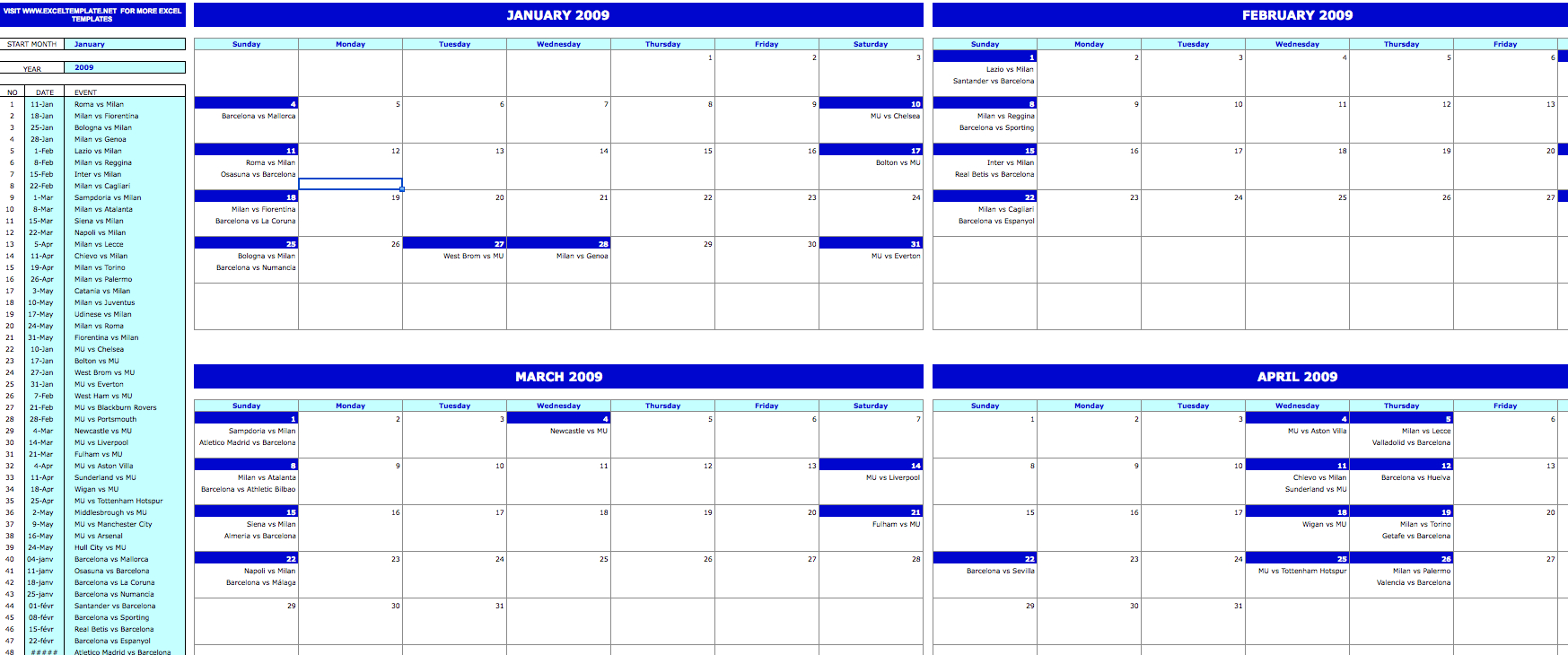 4 Month Calendar Template Five Things You Need To Know 4 Week Calendar Template With Enterable Date