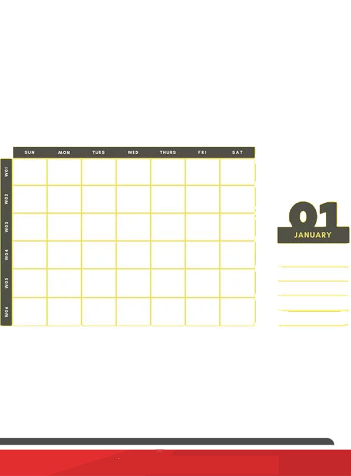 8+ Free Printable Weekly Calendar Templates In Pdf 8 Week Calendar Pdf