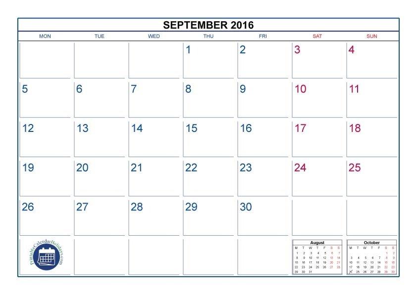 8 X 11 Free Printable Calendar :-Free Calendar Template 8 X 11 Calendar Template