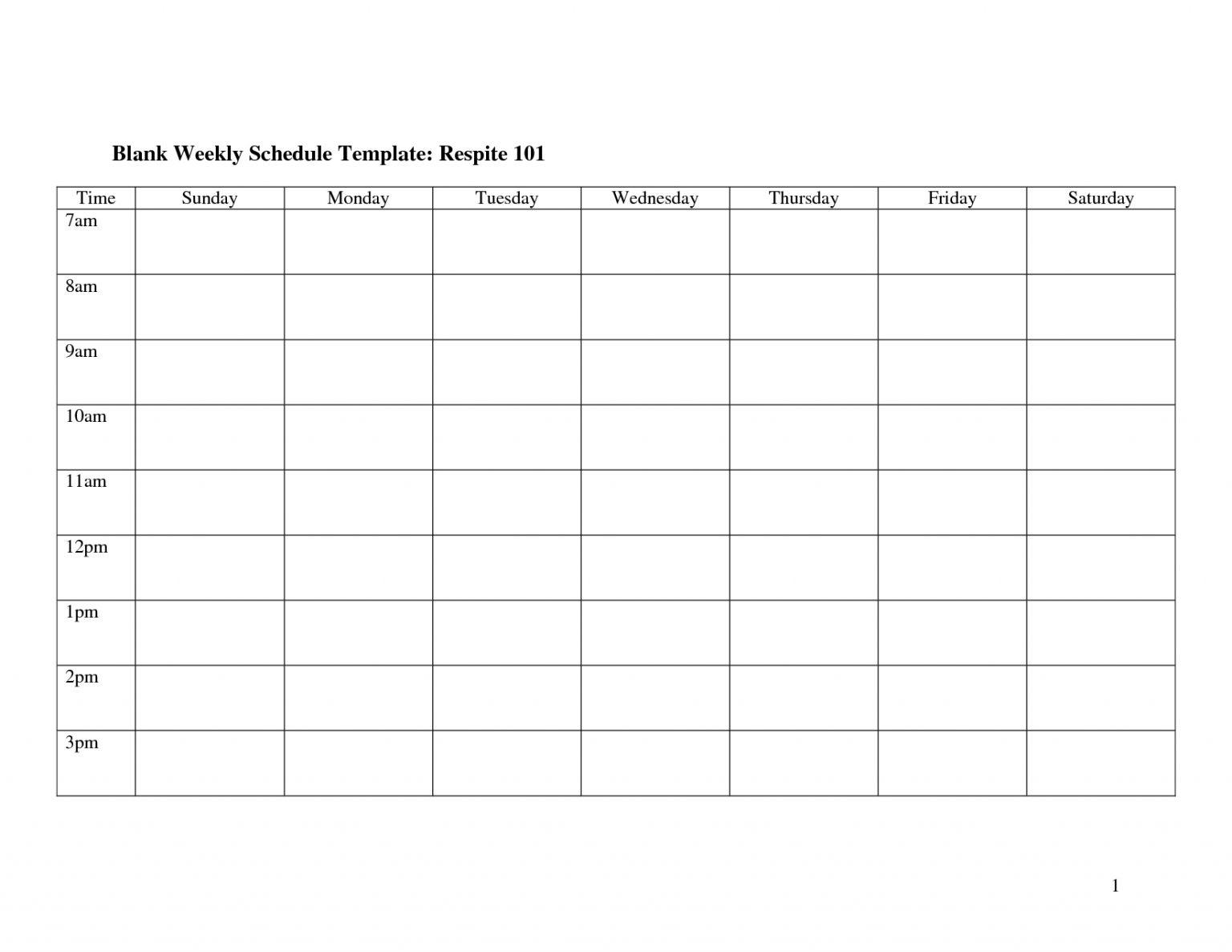 Blank 2 Week Schedule :-Free Calendar Template 2 Week Calendar Blank
