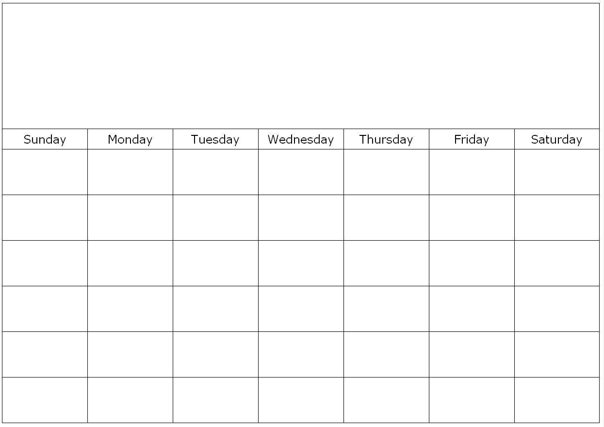 Blank Calendar Page Monday To Friday | Calendar Template Monday-Friday Calandar With Lines Printable