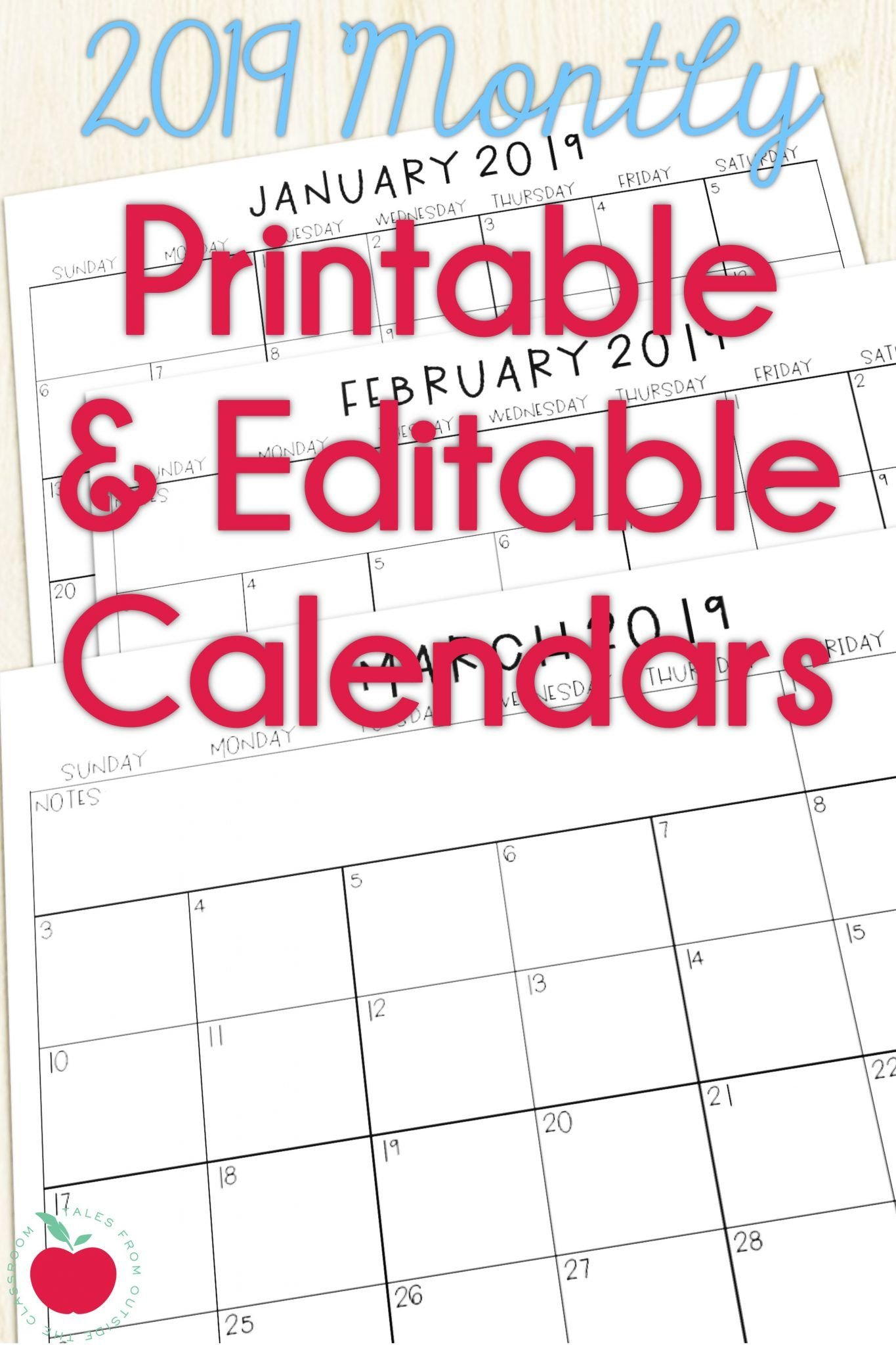 Blank Preschool Class Calendar | Example Calendar Printable Free Editable Preschool Calendar Template