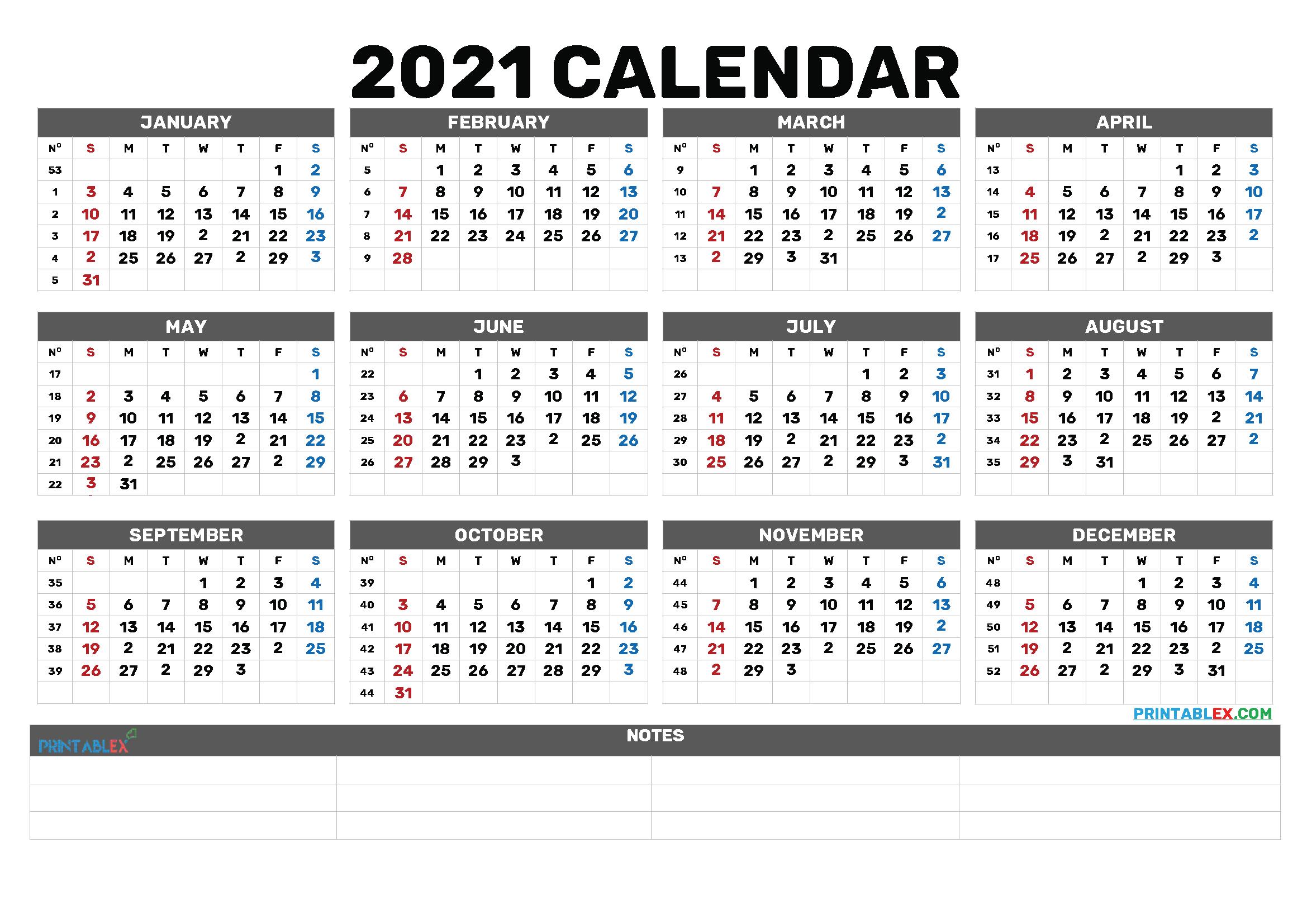 Bold Calendar 2021 | Lunar Calendar How To Print A Calendar Full Page 8 X 11