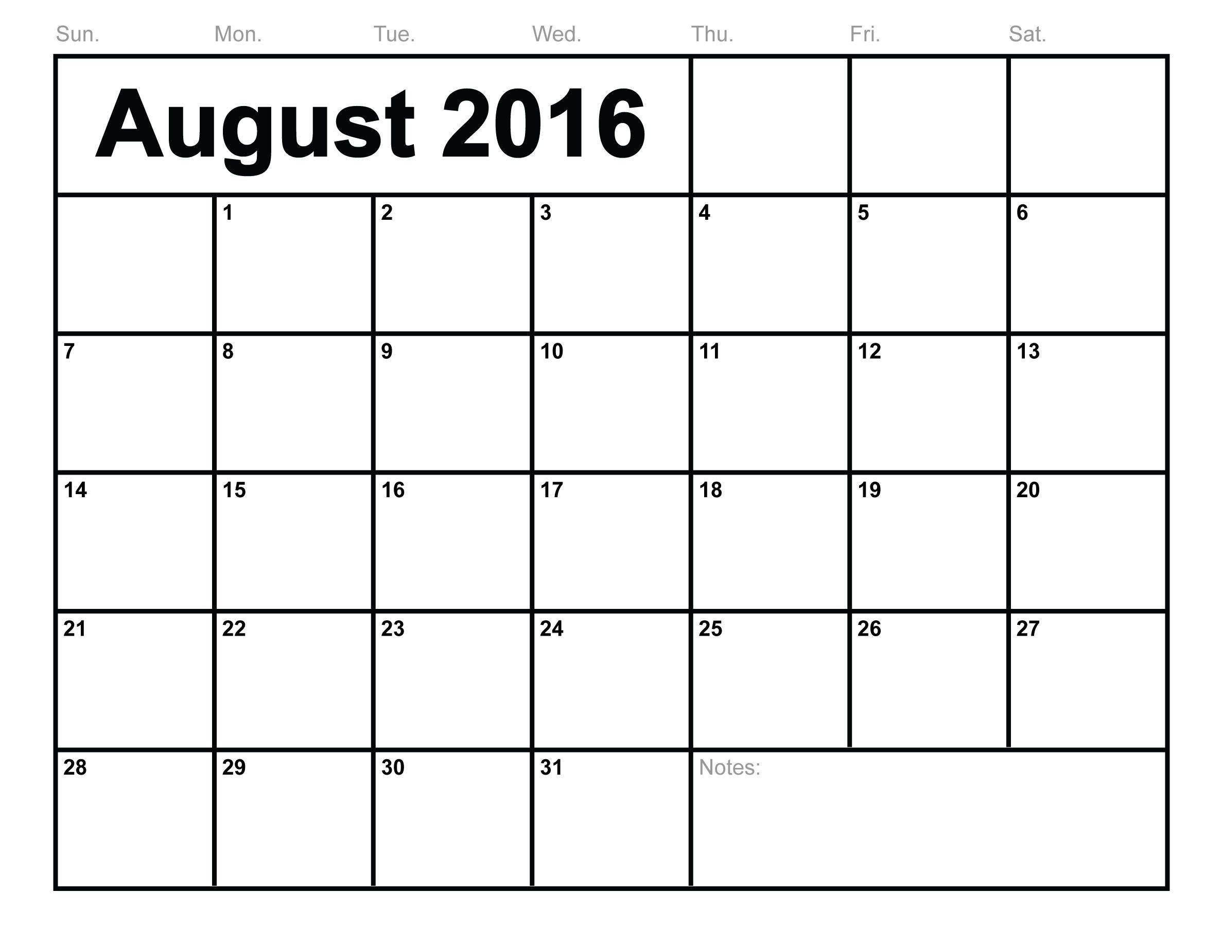 Calendar August 2016 Printable Pdf   June Calendar Free Printable 8 X 11 May Calendar