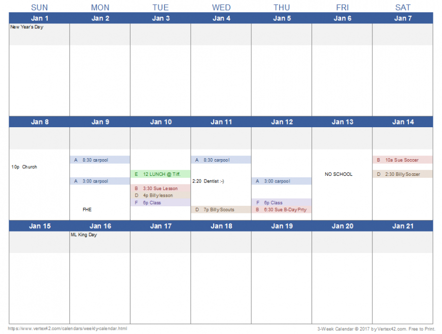 Calendar Templateweek 4 Things You Should Know About 4 Week Calendar Template With Enterable Date