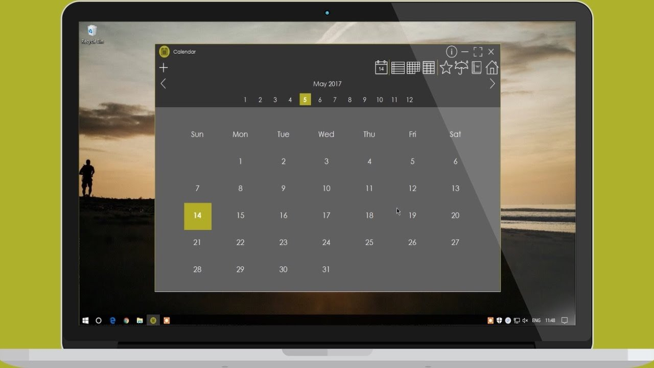 Calendar Version 2   With Events/Appointments   Vb/C# Calendar I Can Modify