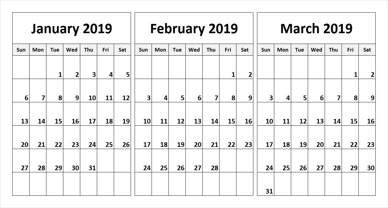 Calender For Last 3 Months - Calendar Inspiration Design Printable 3 Month Calendar