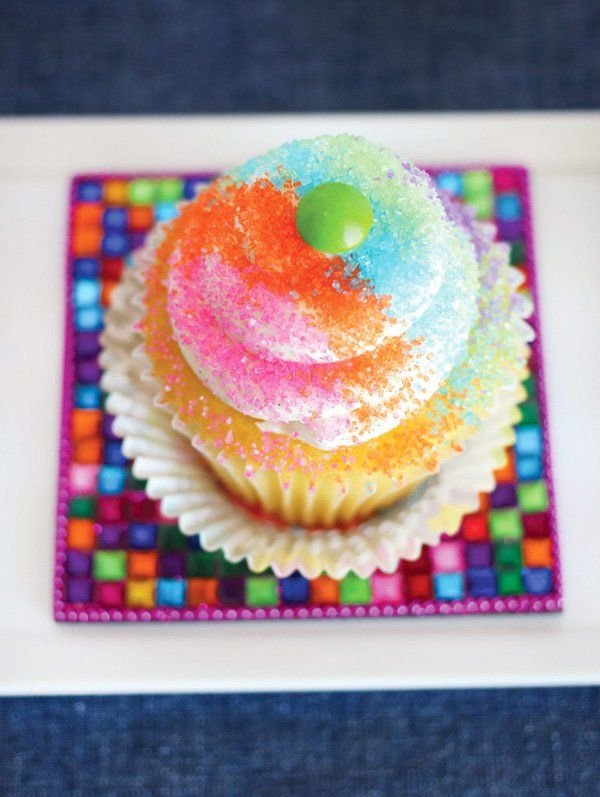 Cupcake Decorating Bar + Setup Tips | Cupcake Cakes Printable Cupcakes With Numbers 1-31