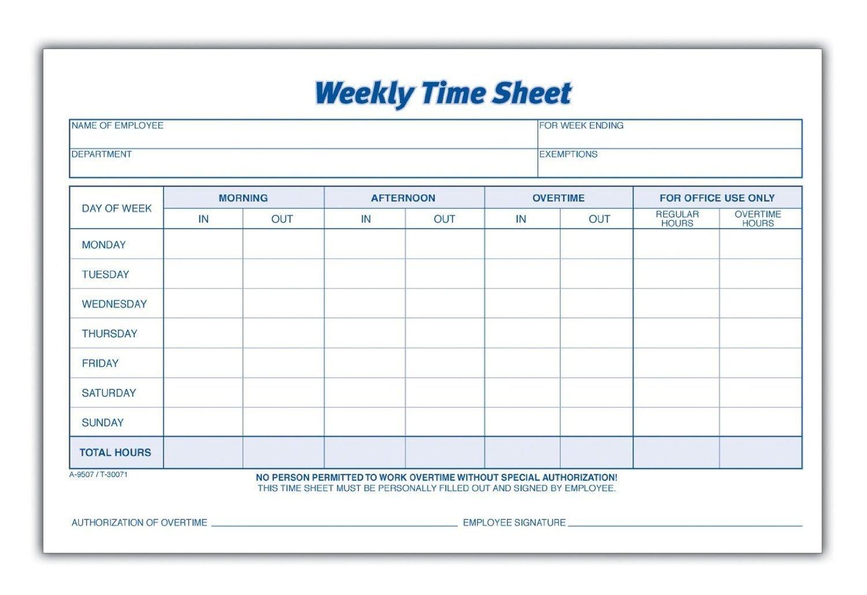 Download Weekly Timesheet Template | Excel | Pdf | Rtf Freee Printable Hr By Hr Schedule