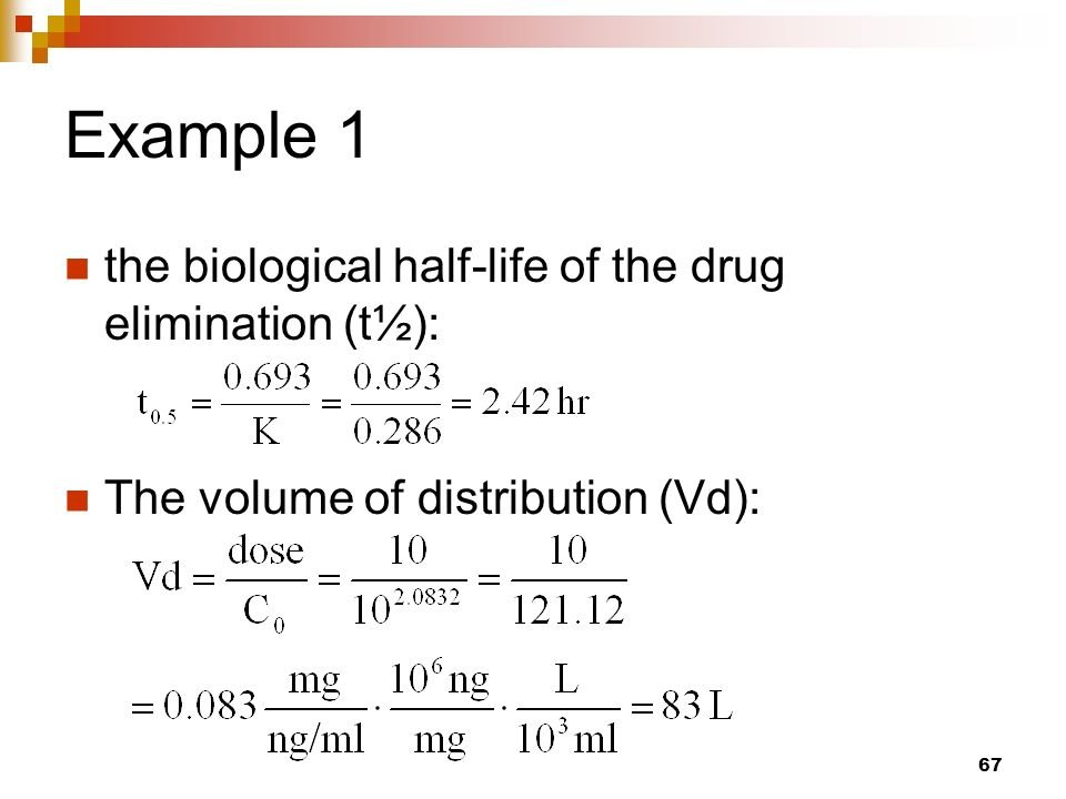 Drug Half Life Formula Calculator - Math Formulas Open Med Expiration Date Calculator