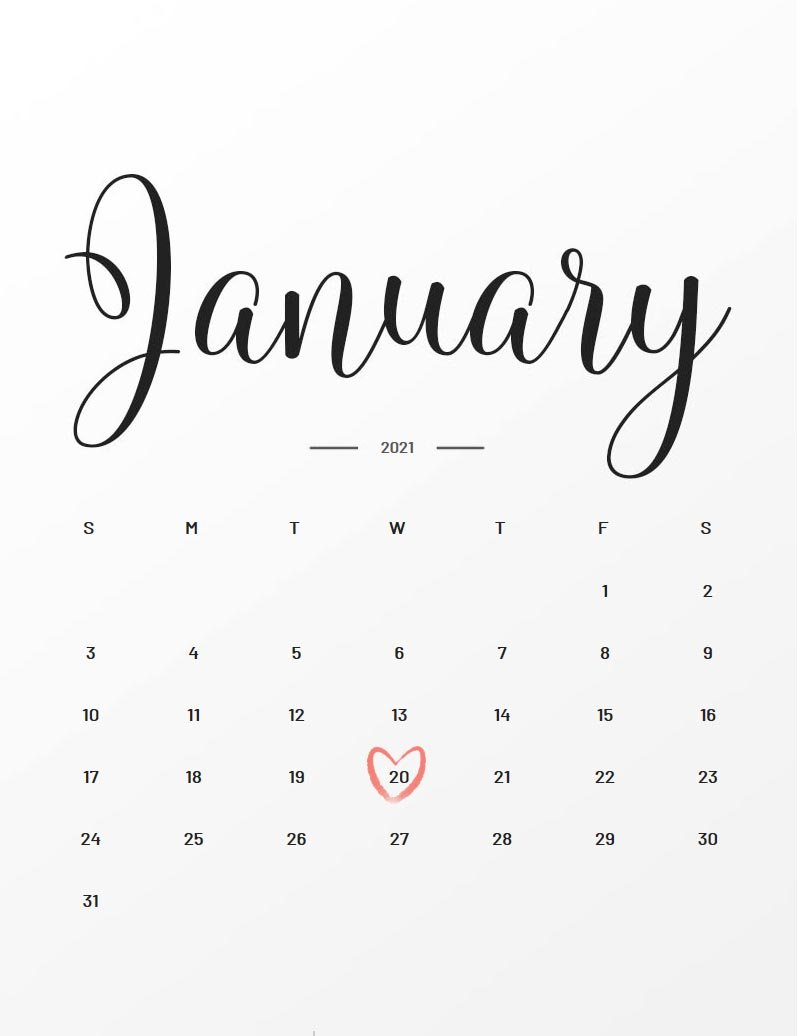 Due Date: January 20, 2021 | During Pregnancy How To Make Baby Due Date Calendar April 2020
