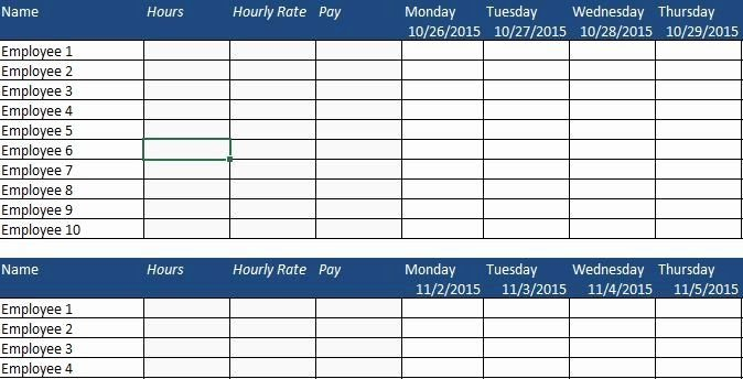 Employee Performance Tracking Template Excel Luxury Free Human Resource Vacation Calendars