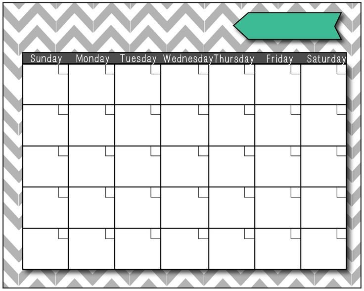 Fill In The Blank Calendar :-Free Calendar Template Fill In Calendar Printable