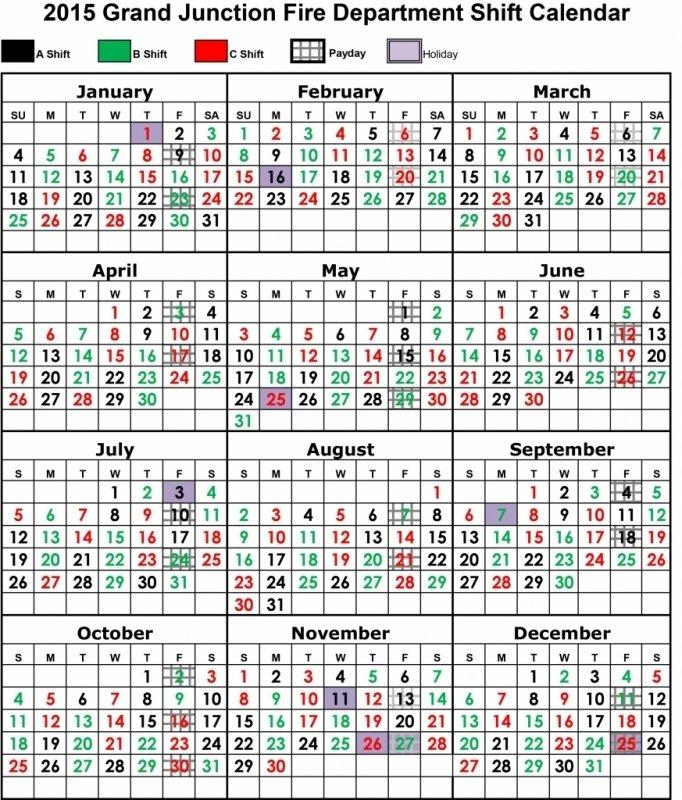 Fire Shift Calendar Templates :-Free Calendar Template Free Printable Shift Calendars