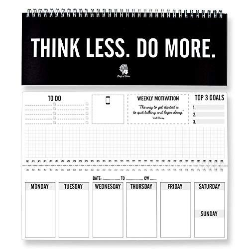 Fitlosophy 'Make Today Count' 365-Day Inspirational 365 Day Count Calendar