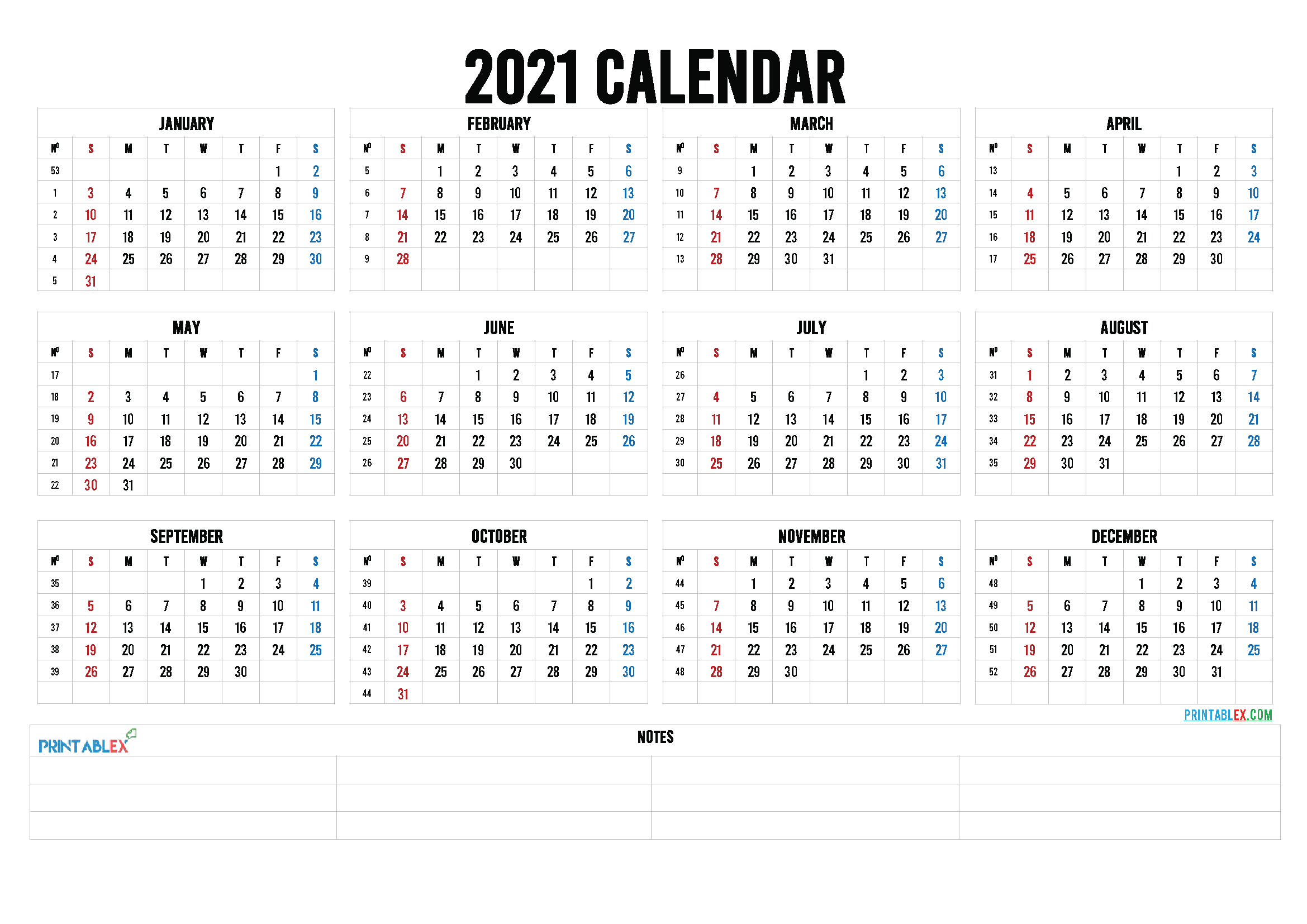Free Editable Weekly 2021 Calendar : Custom Editable 2021 Calendar You Can Edit