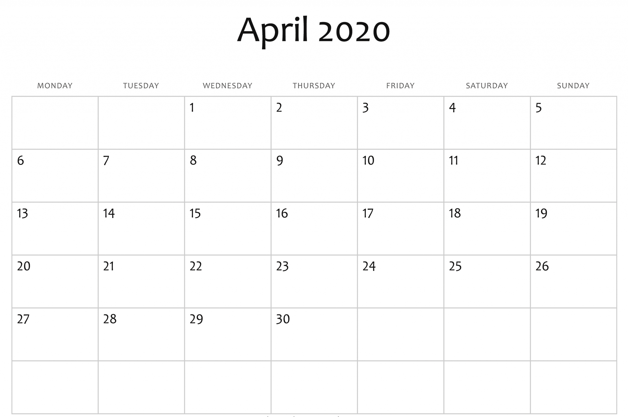 Free Free Printable Fill In Calendars | Get Your Calendar Calendar Fill In Pdf