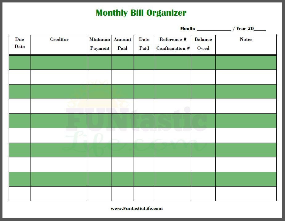 Free Printable Bill Calendar - Calendar Template 2020 Free Interactive Calendar Templates