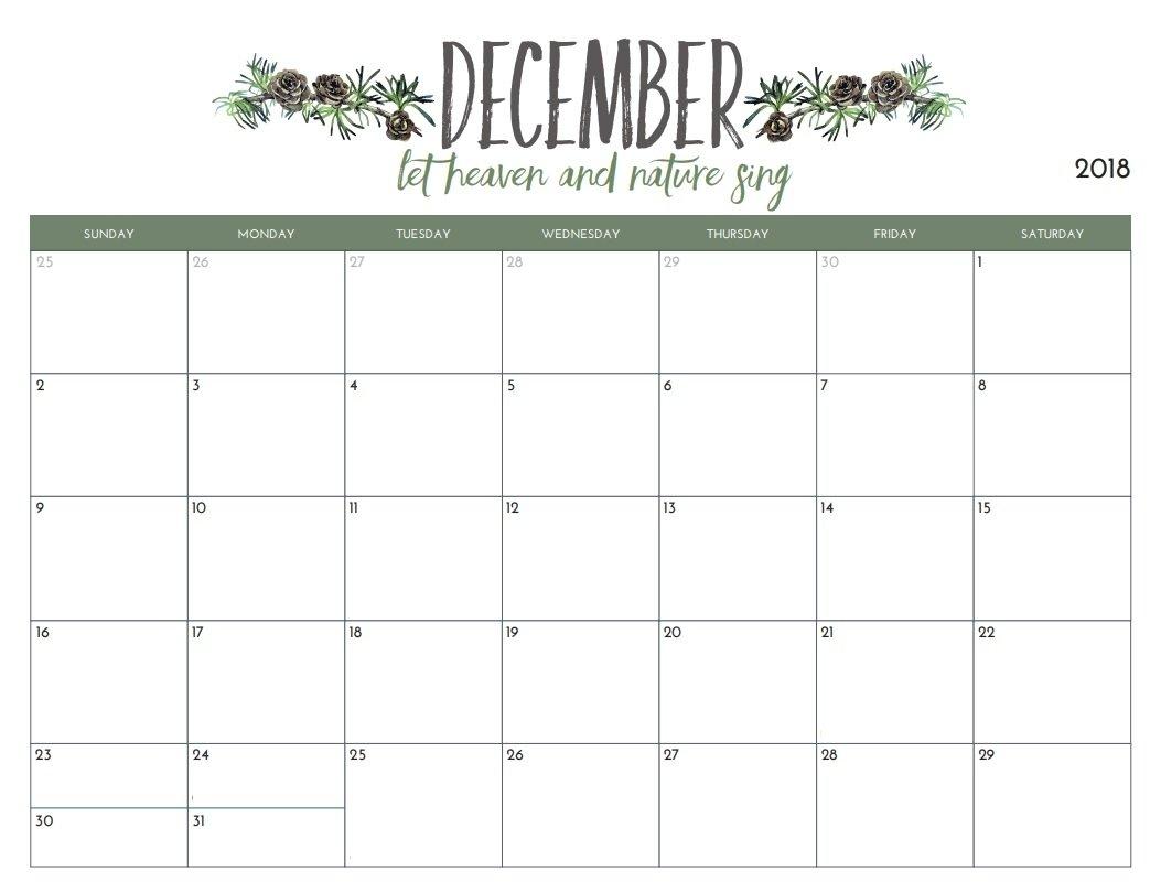 Free Printable Calendar You Can Edit   Ten Free Printable Calender You Can Edit