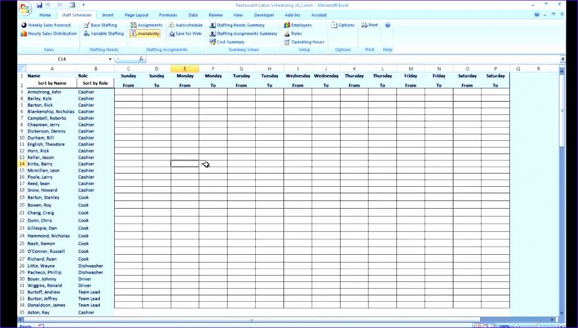 Free Printable Daily Schedule Sheet - Bing Reservation Calendar Template Excel