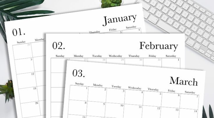 Free Printable Lined Monthly Calendar 2020 Image Free Printable Lined Monthly Calendar