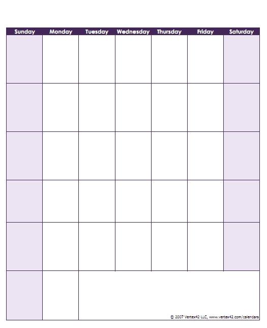 Free Printable Monday Sunday Schedule Image | Calendar Free Printable Monday Sunday Schedule