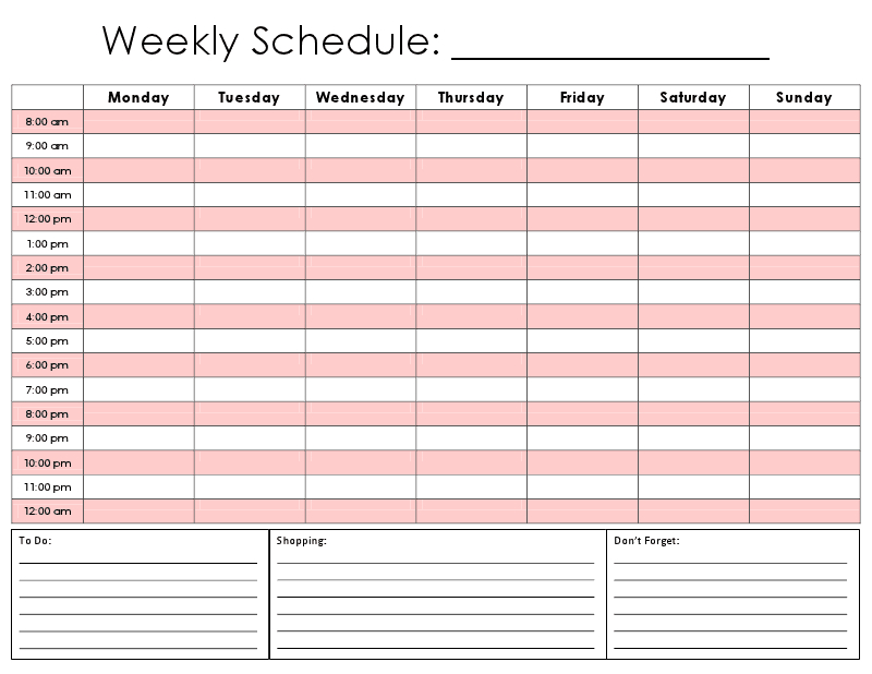 Hourly Calendar There Are So Many Calendar Templates Out One Week Calendar Form