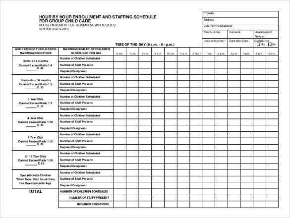 Hourly Schedule Template - 34+ Free Word, Excel, Pdf Freee Printable Hr By Hr Schedule