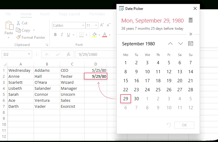 How To Create A Drop-Down Calendar In Excel Template How To Add Claendar Template In Excel Dropdown