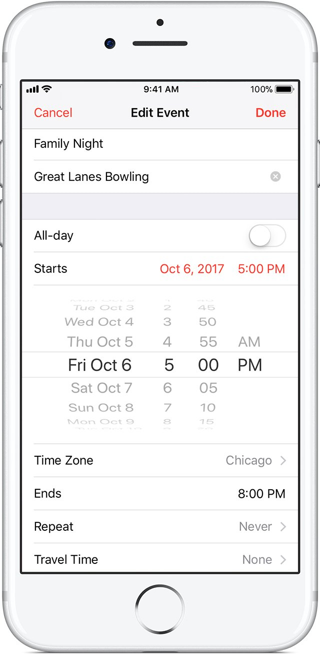 Keep Your Calendar Up To Date With Icloud - Apple Support Calendar I Can Modify
