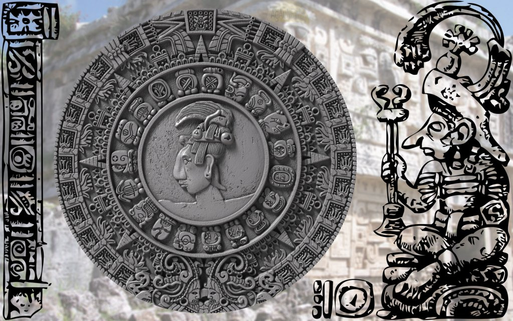 Last Day On Mayan Calendar - Calendar Template 2020 Print A Mayan Calendar