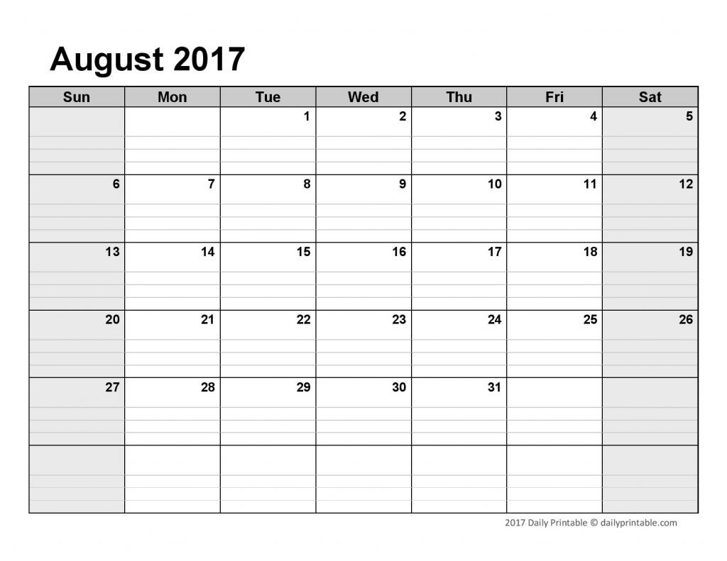 Lined Monthly Calendar Free Printable :-Free Calendar Template Blank Lined Calander Templates