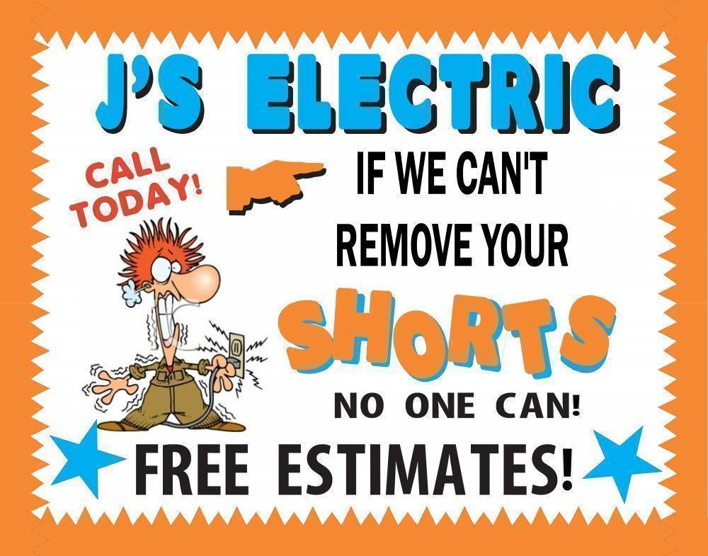 Make An Electrician Business Poster | Technician Sign Write On Calander With Min Of 16 Line