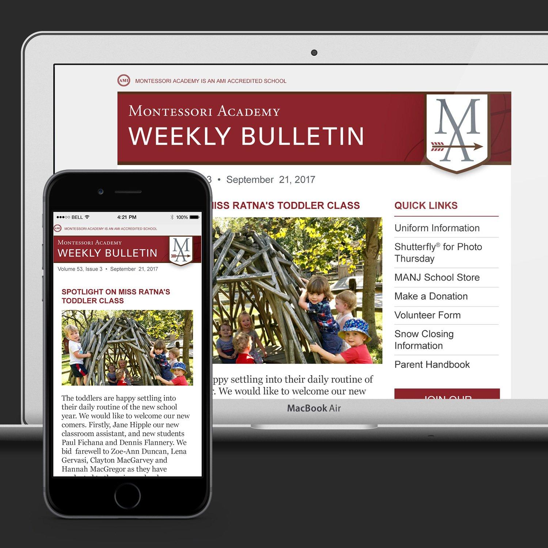 Manj E Newsletter Templates | Olahdesign E Newsletter Content Plan Template
