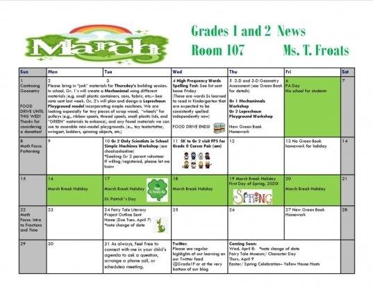 March Call Out Calender | Printable Calendar Template 2020 Military Short Timer Calendar
