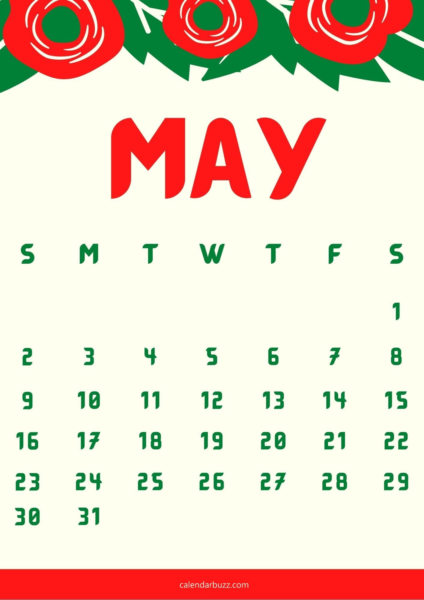 May 2021 Wall Calendar Printable Templates Free Download Calendares To Print That Have The Week M Thru Sunday