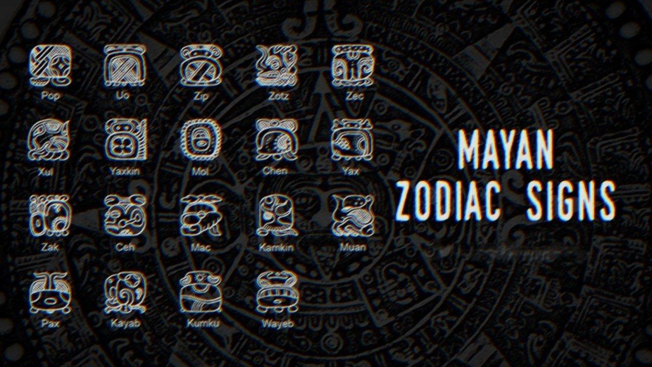 Mayan Calendar Zodiac Signs • Printable Blank Calendar Make A Mayan Calendar Templates