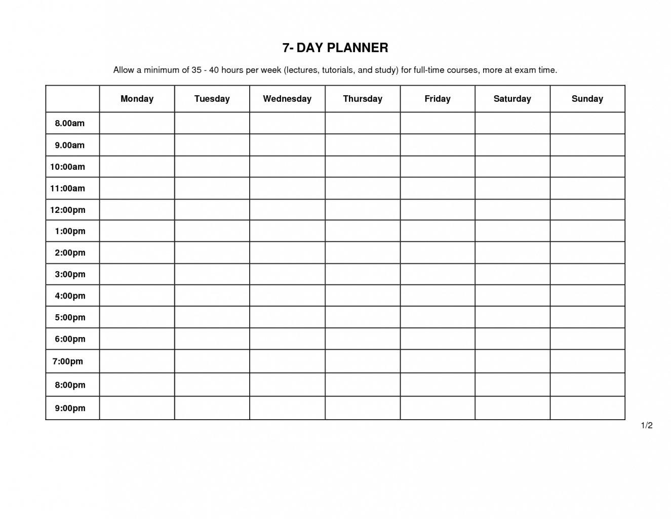 Monday Through Friday Calendar Template   Example Calendar Monday To Friday Schedule Template With Four Weeks